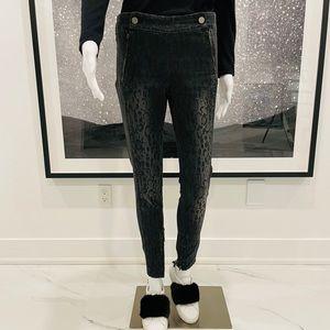 Stella McCartney leopard print skinny jean